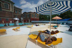 Rec center pool